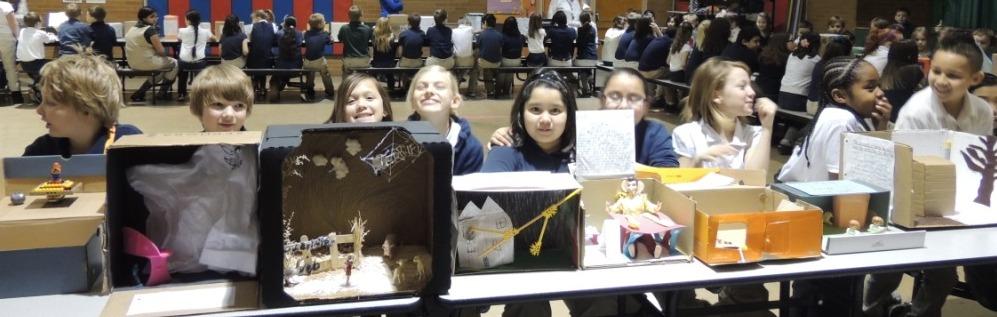 Fourth Grade Dioramas