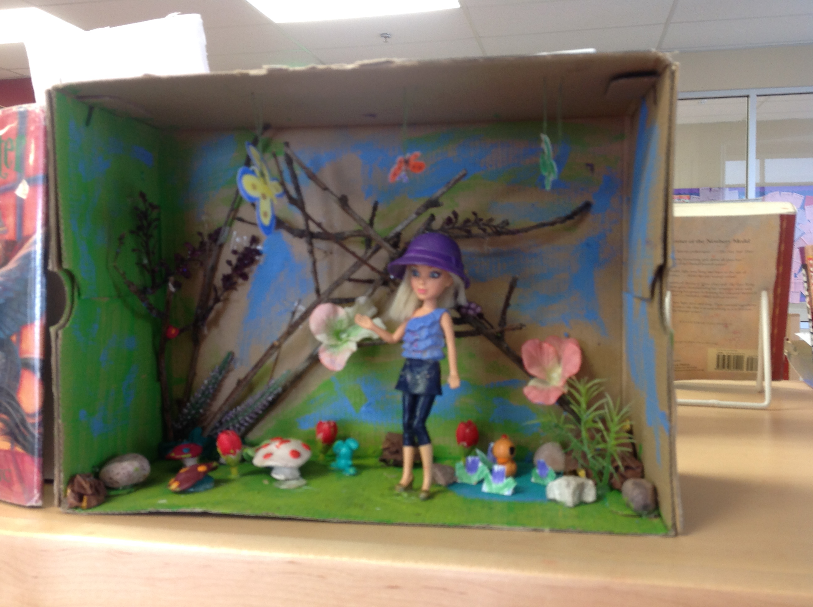 3rd grade book report diorama 10 beautiful book dioramas putting your fourth grade project to shame  3  dune by frank herbert deep in the human unconscious is a.