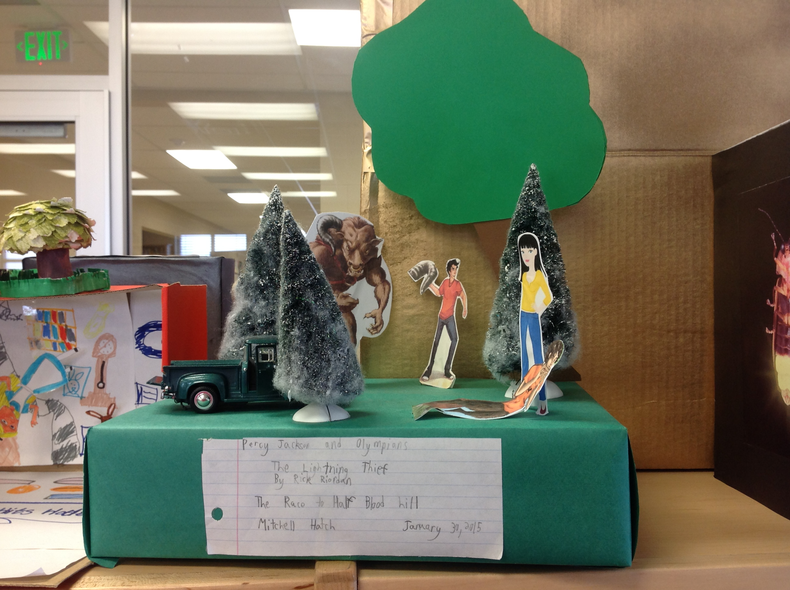4th grade book report diorama Find this pin and more on diorama book reports by scout1967 my son cameron and i made this jungle diorama for his 4 th grade book report.